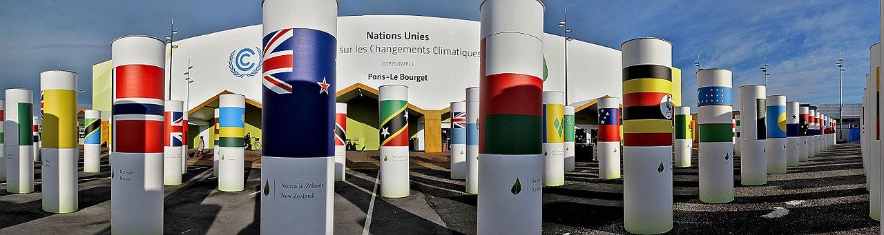 Klimakonferenz in Paris von außen